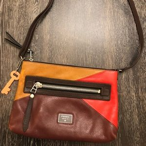 Fossil cross-body purse